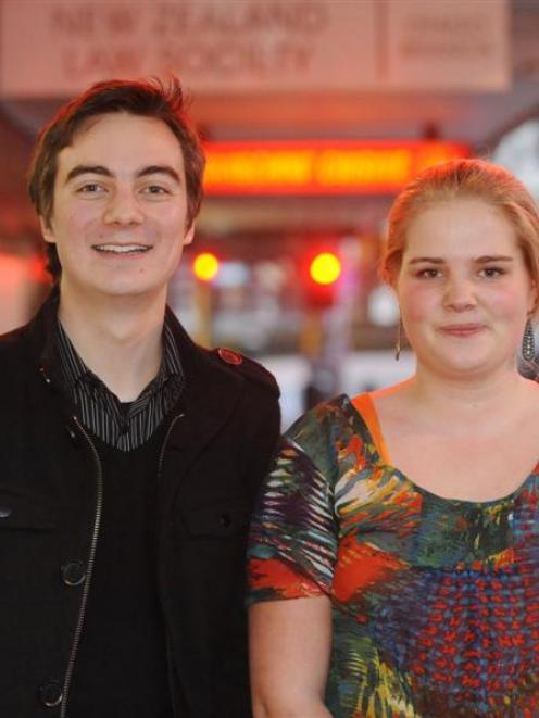 Dominic Tay  and Elizabeth Rudd, both of Dunedin, are attending the Aspiring Leaders Forum in...