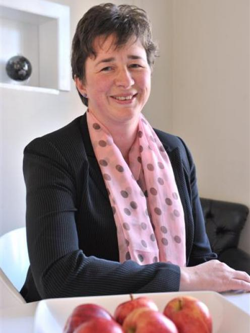 Dr Helen Darling is a finalist in this year's Women of Influence awards. Photo by Linda Robertson.