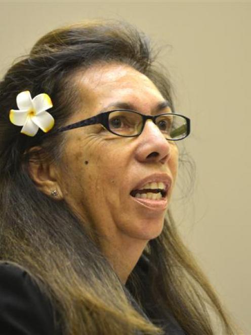 Dr Jenny Te Paa Daniel. Photo by Peter McIntosh.