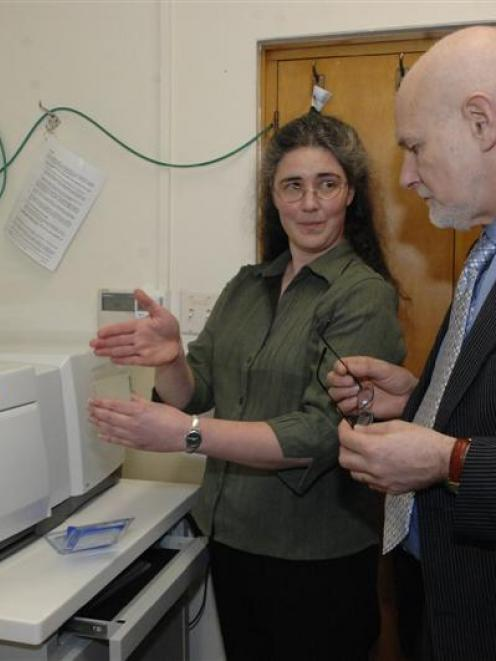 Dr Jo-Ann Stanton, director of the University of Otago's gene sequencing unit, explains the...