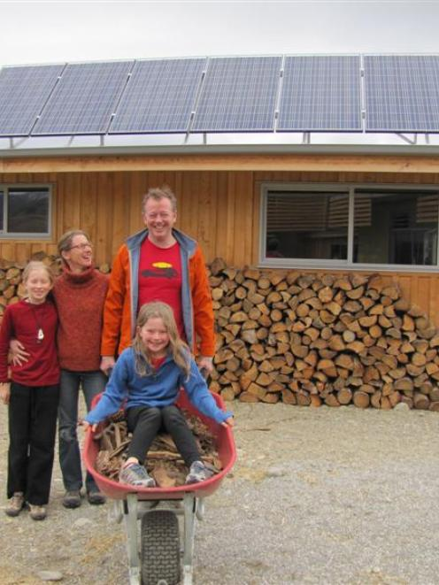 Duncan Kenderdine and Suze Keith with children Caitlin (11) and Phoebe (9) have just moved into...