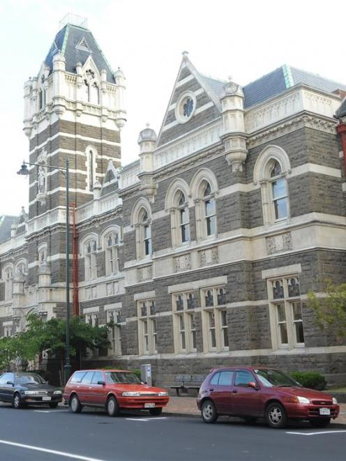 Dunedin's historic courthouse. Photo by Craig Baxter.