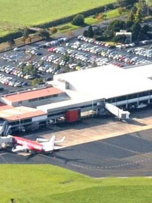 Dunedin Airport.