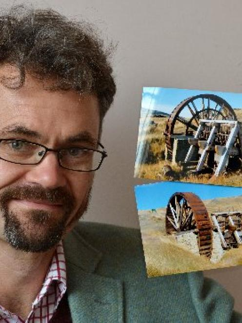 Dunedin archaeologist Peter Petchey reflects on photographs of a water wheel and the associated...