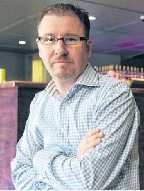 Dunedin bar owner Benjamin Hanssen, who is an online hate victim. Photo: Gerard O'Brien