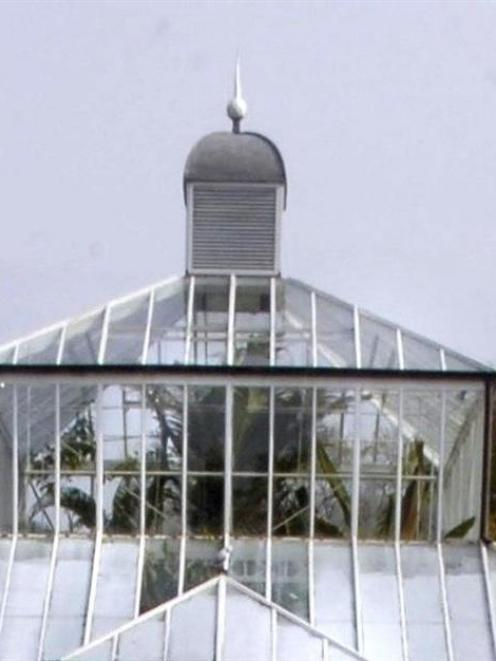 Dunedin Botanic Garden staff would like whoever stole this finial from atop the Winter Garden to...