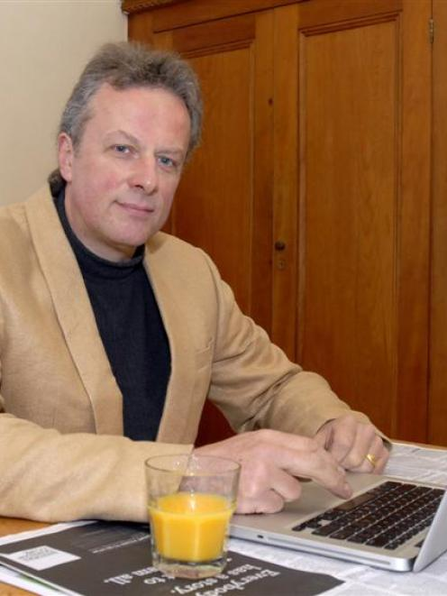 Dunedin businessman Lee Vandervis is standing again for mayor and as a city councillor. Photo by...