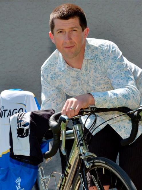 Dunedin cyclist Carl Haddon, who was knocked off his bicycle by a bus at The Cove on Sunday,...