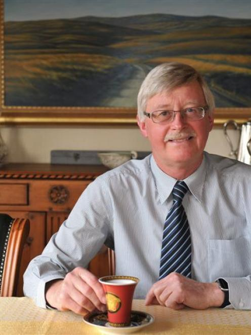 Dunedin deputy mayor Chris Staynes wants to continue to savour his work, and his passion for wine...