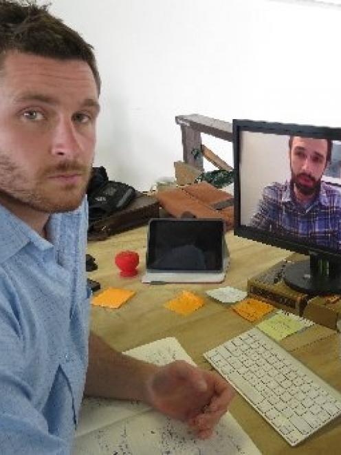Dunedin Digital Office Gigatown promoter Josh Jenkins speaks to Chattanooga Gigtank co-founder...