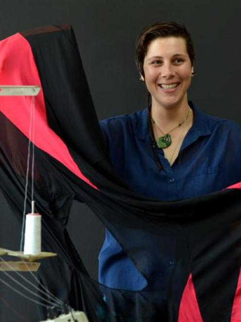 Dunedin eco fashion designer Fiona Clements is preparing to send a collection to Auckland for a...