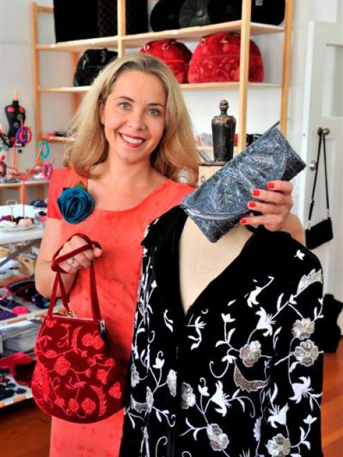Dunedin fashion designer Tamsin Cooper is preparing to show her womenswear and accessories in New...