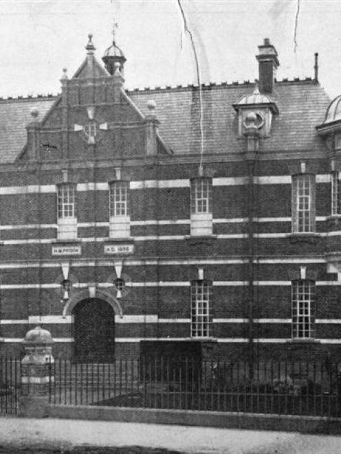 Dunedin Gaol.