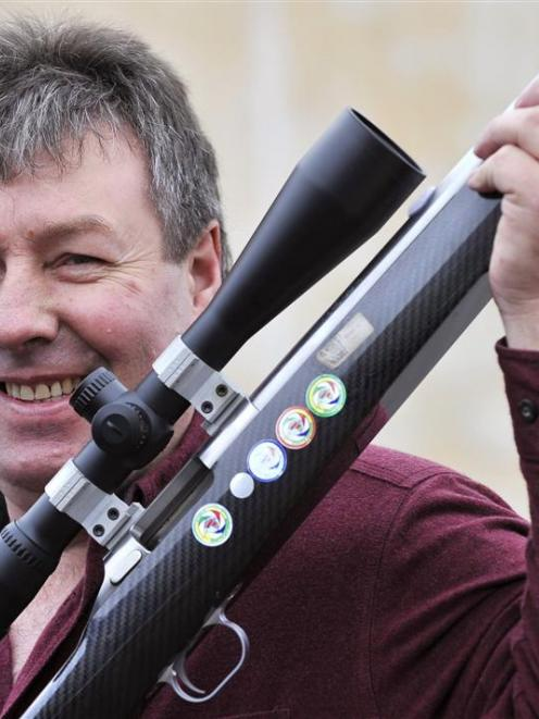 Dunedin man Ian Owen set a world record for benchrest shooters at the world championships in...