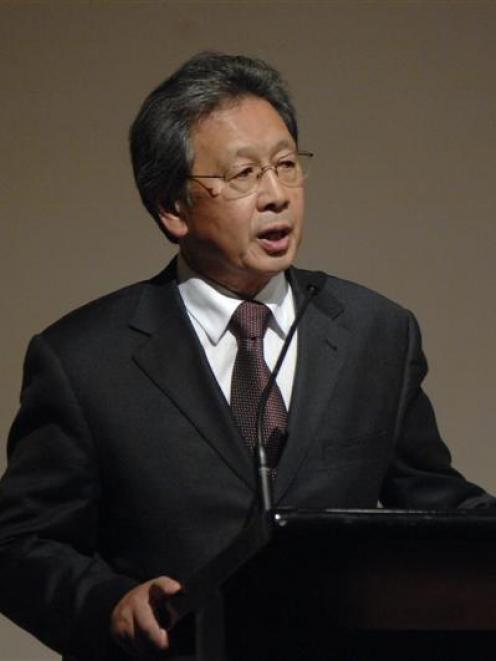 Dunedin Mayor Peter Chin.
