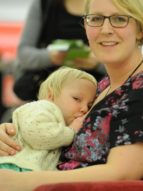 Dunedin mother Megan Woodman and 21-month-old daughter Aibhilinn Woodman-Shinnors took part in...
