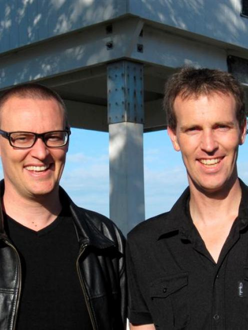 Dunedin North Labour candidate David Clark (left) with his brother Ben who will be confirmed...