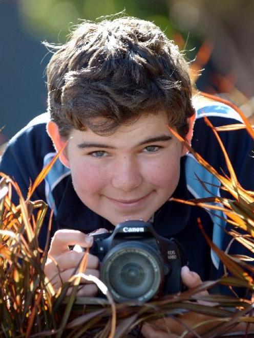 Dunedin photographer Alex van der Weerden eyes up another potential competition-winning image....