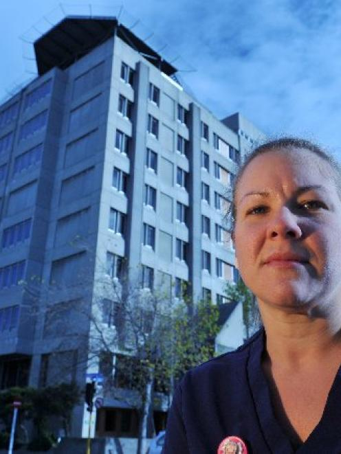 Dunedin Public Hospital nurse Helen Adair has raised concern over the hospital's working...
