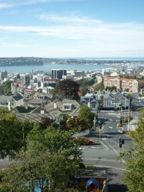 Dunedin residential values rose by 1.7% in the year ended April. Photo supplied.
