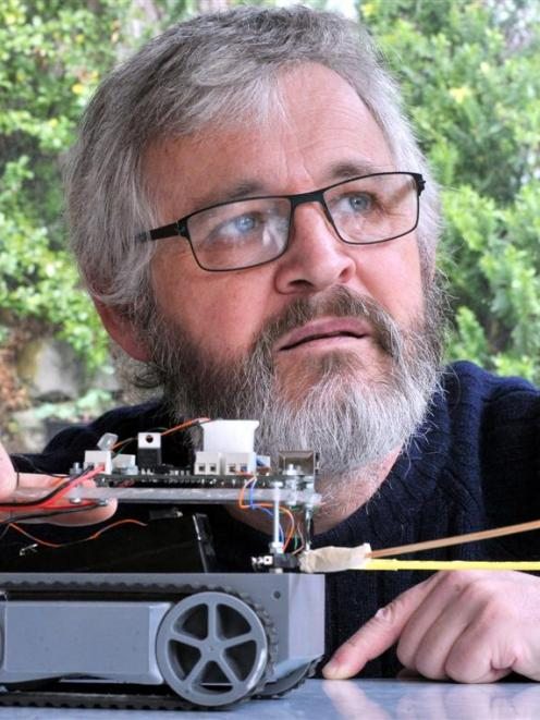Dunedin robotics enthusiast and programming consultant Paul Campbell is firmly opposed to the...