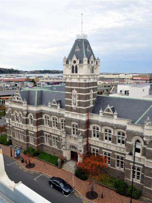 Dunedin's 1902 courthouse will be upgraded to new earthquake standards. Photo by Craig Baxter.