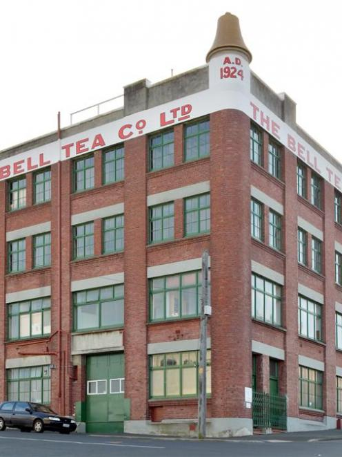 Dunedin's Bell Tea building, on the corner of Hope and Carroll Sts, has been sold. Photo by...