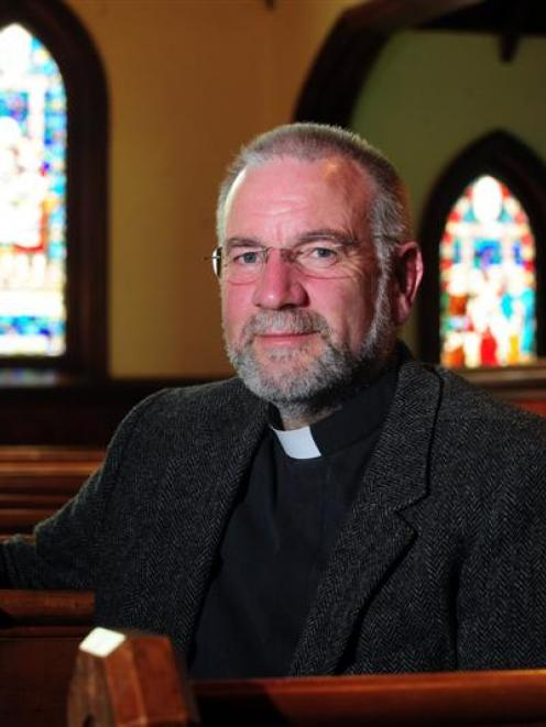 Dunedin's new Anglican bishop, Dr Kelvin Wright. Photo by Craig Baxter.