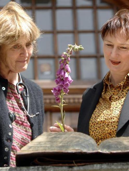 Dunedin School of Medicine senior lecturer Dr Monika Clark-Grill (left) and medical herbalist...