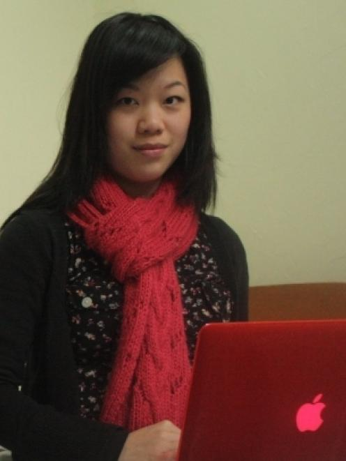 Dunedin student Jasmine Ong was the target of an internet scam where she was contacted by someone...