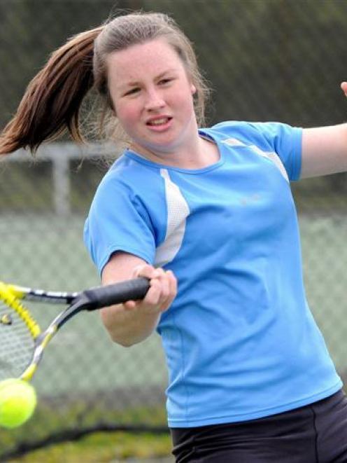 Dunedin tennis ace Libby Scott has accepted a  sports  scholarship at Coastal Carolina University...