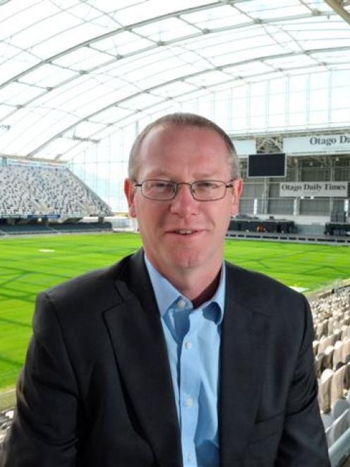 Dunedin Venues Management Ltd chief executive Darren Burden says he has no regrets about quitting...