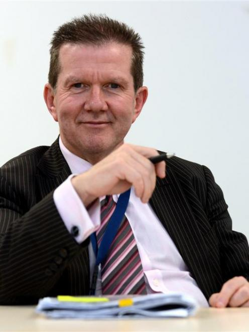 Dunedin Venues Management Ltd chief executive Terry Davies. Photo by Peter McIntosh.