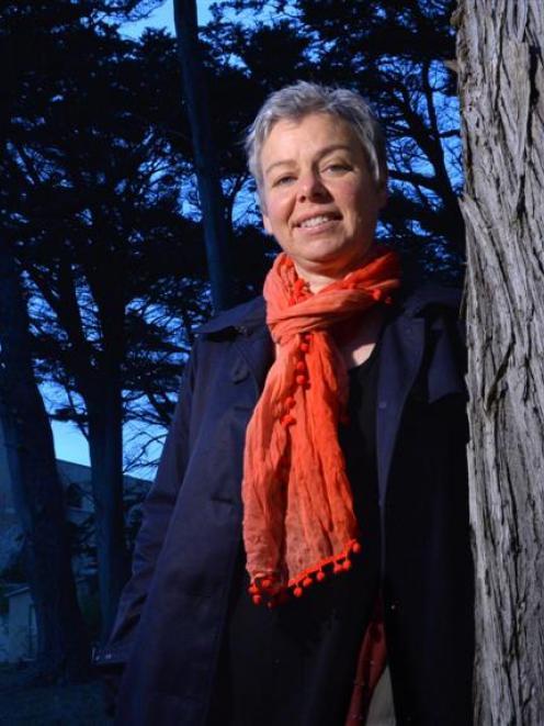 Dunedin writer Rachel Stedman. Photo by Gerard O'Brien.
