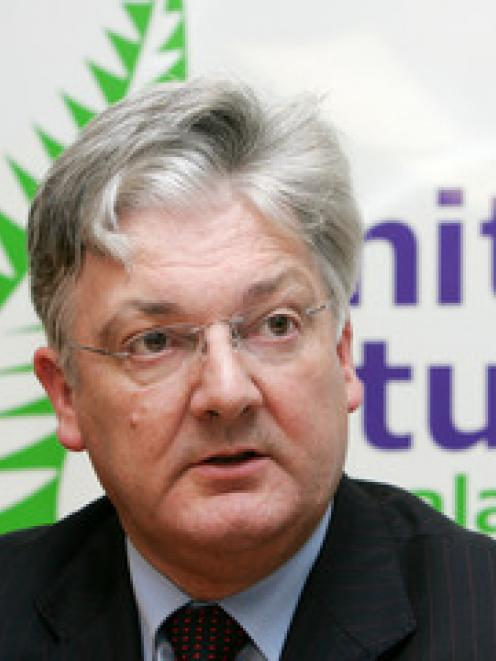 United Future leader Peter Dunne