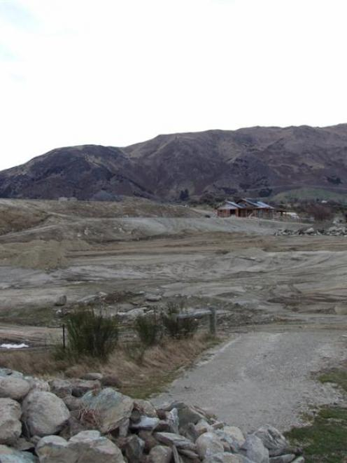 Earthworks being done to develop subdivisions in Wanaka are depriving the landscape of some of...