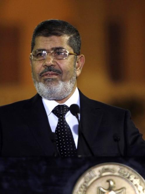 Egyptian President Mohamed Mursi. Photo Reuters