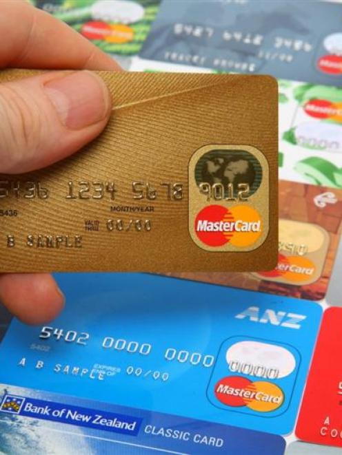 Electronic card spending remained flat in June. Photo from the ODT files.