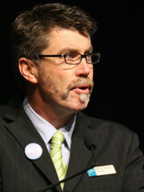 Elim Christian College principal Murray Burton
