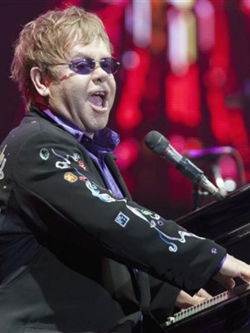 Elton John. Photo by AP.