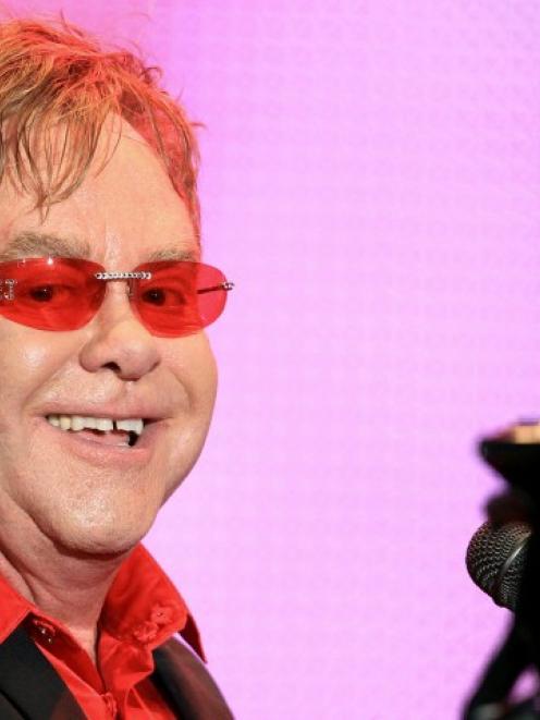Elton John. Photo Reuters