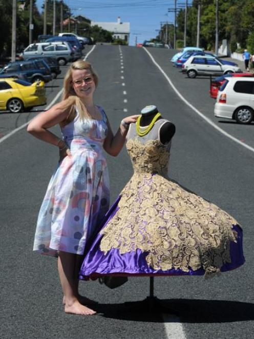 Emerging Dunedin fashion designer Tansy Morris says she has a long way to go before establishing...