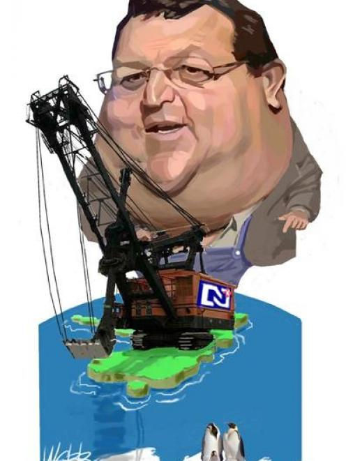 Energy and Resources Minister Gerry Brownlee