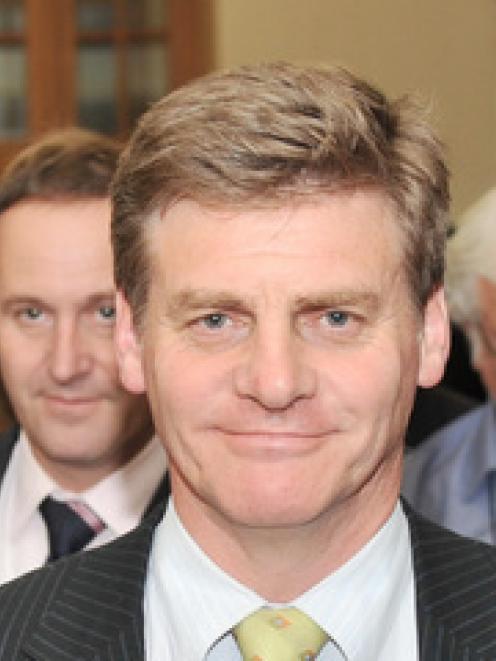 Deputy National leader Bill English