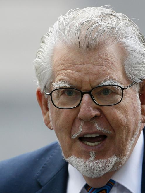 Entertainer Rolf Harris arrives at Southwark Crown Court in central London.   REUTERS/Stefan Wermuth