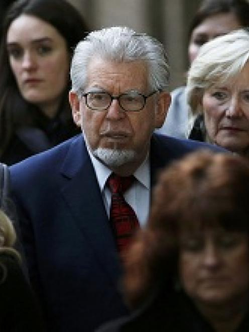 Entertainer Rolf Harris leaves Southwark Crown Court in London.  REUTERS/Suzanne Plunkett