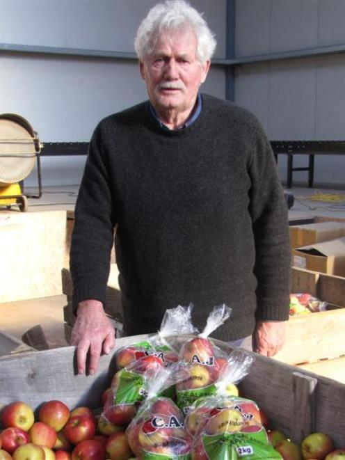Ettrick fruitgrower Con van der Voort says though he has lifted production, the high New Zealand...