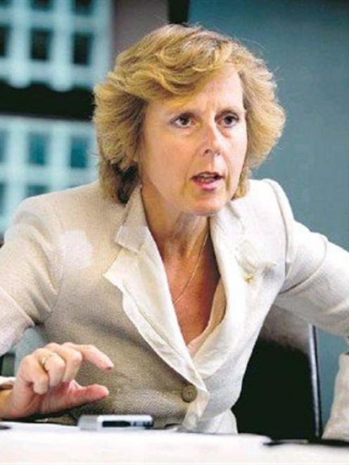European Commissioner for Climate Action speaks while visiting New Zealand in September for the...