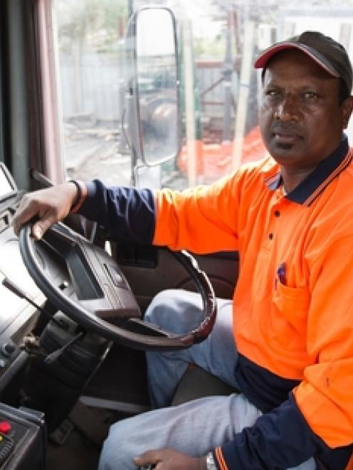 Fijian truck driver Surend's employer says he is a vital part of the West Auckland business....