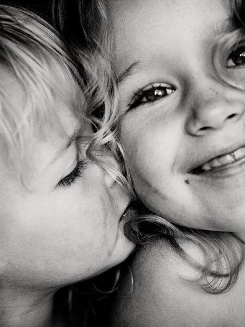 Fiona Andersen's photograph of daughters Ava (left) and Ella. Photo supplied.